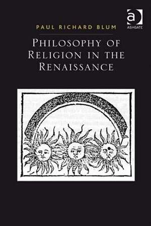 Philosophy of Religion in the Renaissance [Adobe Ebook]