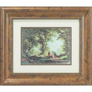 Way to Emmaus Framed Art Luke 24:32