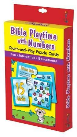 PUZZLE CARDS BIBLE PLAYTIME WITH NUMBERS