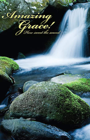 Amazing Grace! Bulletin Package of 100