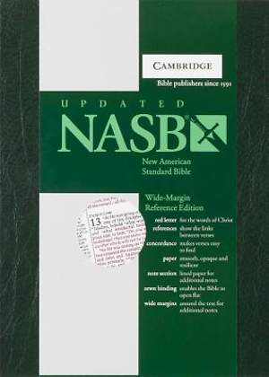 NASB Wide-Margin Reference Edition