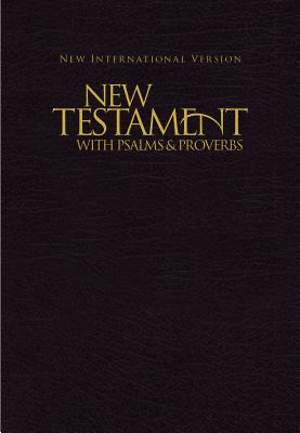 NIV Pocket New Testament with Psalms and Proverbs - Black