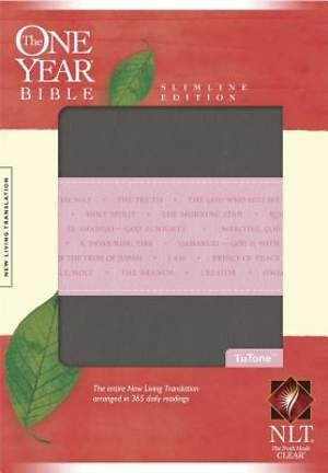 New Living Translation One Year Bible