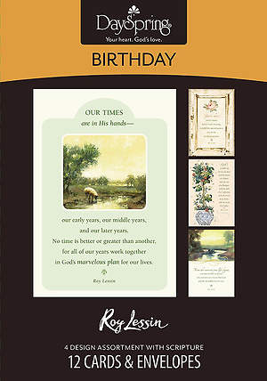 Roy Lessin - Birthday Boxed Cards - Box of 12
