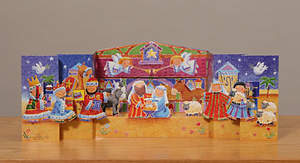 3-D Nativity Advent Calendar