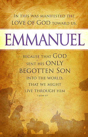 Emmanuel Bulletin Pack of 100