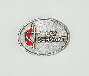 United Methodist Lay Servant Pin