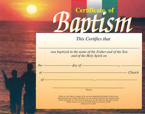 Sunset Baptism