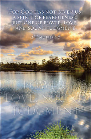 Power, Love, Sound Judgment