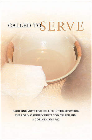 Called to Serve Bulletin Regular (Package of 100)