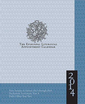 Episcopal Liturgical Appointment Calendar 2014
