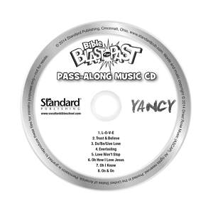 Standard VBS 2015 Blast to the Past Pass-Along Music CDs (10)