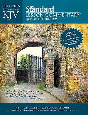 Standard Lesson Commentary NIV Deluxe Edition 2014-2015
