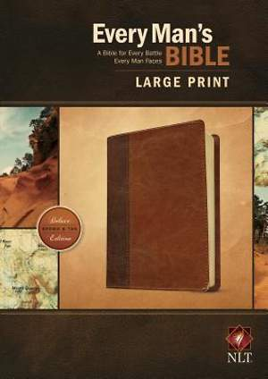 Every Man's Bible NLT, Large Print