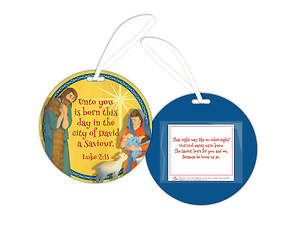 Night Like No Other Children's Ornament (Pack of 6)