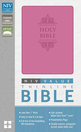 NIV Premium Value Thinline Bible Imi Lthr Or