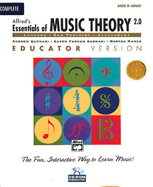Alfred's Essentials of Music Theory Ear Training CD