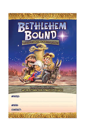 Bethlehem Bound Event Posters