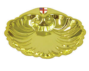 Baptism Shell Dish with Episcopal Shield