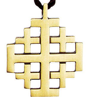 Jerusalem Cross Pendant