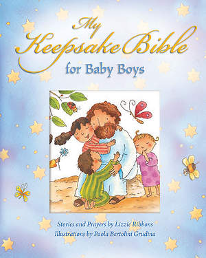 My Keepsake Bible - For Baby Boys (Blue)
