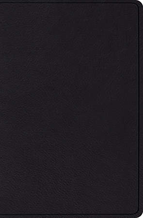 ESV Verse-By-Verse Reference Bible (Top Grain, Black)