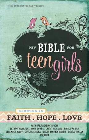 NIV Bible for Teen Girls