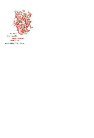 Christmas Letterhead #6007L  (Glory)  Red -  Pack of 50