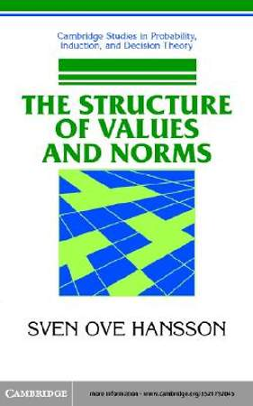 The Structure of Values and Norms [Adobe Ebook]