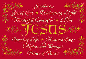 Names of Jesus Boxed Cards