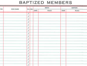 Register of Baptisms #32