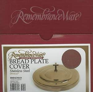 RemembranceWare Bread Plate Cover
