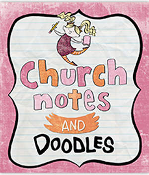 Church Notes & Doodles for Girls
