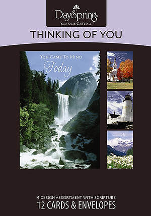 Blue Skies - Thinking of You Boxed Cards - Box of 12