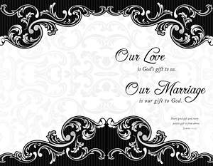 Wrap Design Wedding Bulletin James 1:17, Package of 100
