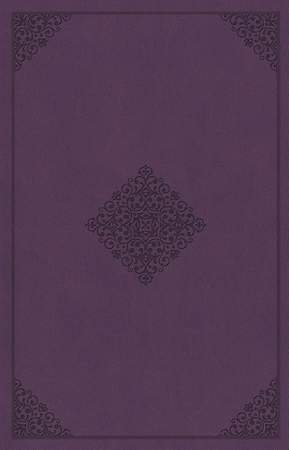 ESV Holy Bible, Value Edition (Truflat, Lavender, Ornament Design)