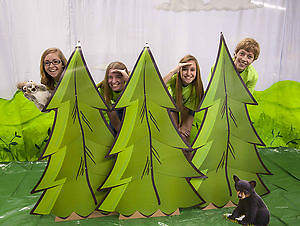 Concordia VBS 2015 Camp Discovery Pine Tree Cut Outs (Pack of 2)