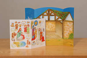 Nativity 2007 Advent Calendar with Stickers
