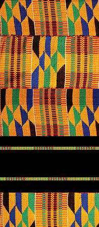 Kente Economy Pulpit Scarf
