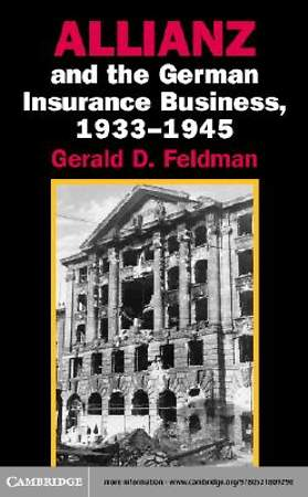 Allianz and the German Insurance Business, 1933-1945 [Adobe Ebook]