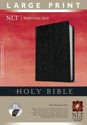 Personal Size Large Print Bible-NLT