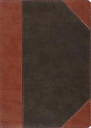 The MacArthur Study Bible (Trutone, Forest/Tan, Portfolio)