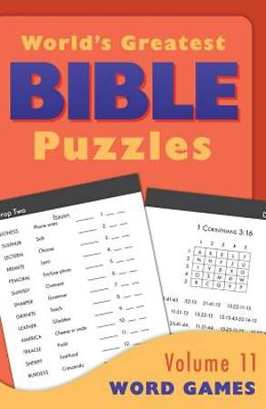 World's Greatest Bible Puzzles