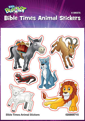 Standard VBS 2015 Blast to the Past Bible Times Animal Stickers (6)
