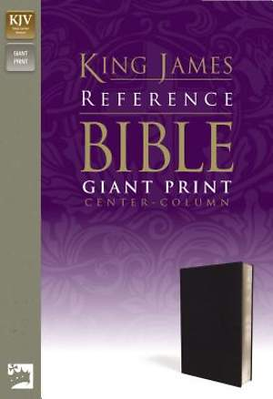 Reference Bible-KJV-Giant Print Center Column