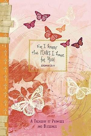 Hardcover 5 X 7 Pocket Inspirations for I Know Butterfly