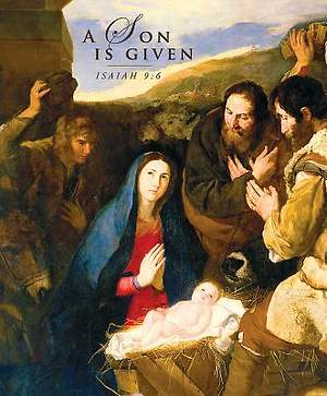 A Son Is Given Christmas Nativity Bulletin 2014, Large (Package of 50)