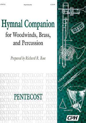 Hymnal Companion For Brass-Woodwinds-Percussion Lent/Easter