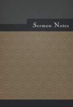 Sermon Notes (Male Design)