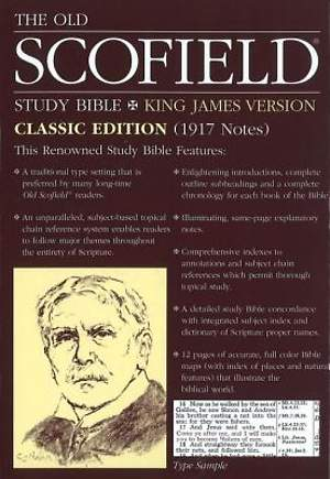 The Old Scofield Study Bible King James Version Classic Edition
